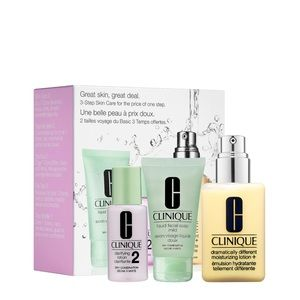 Clinique Great Skin Set for Dry Combination Skin